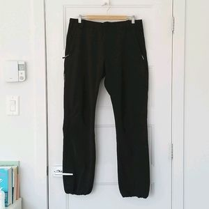 La Cordée Black Winter Pants for Ski or Snowshoe